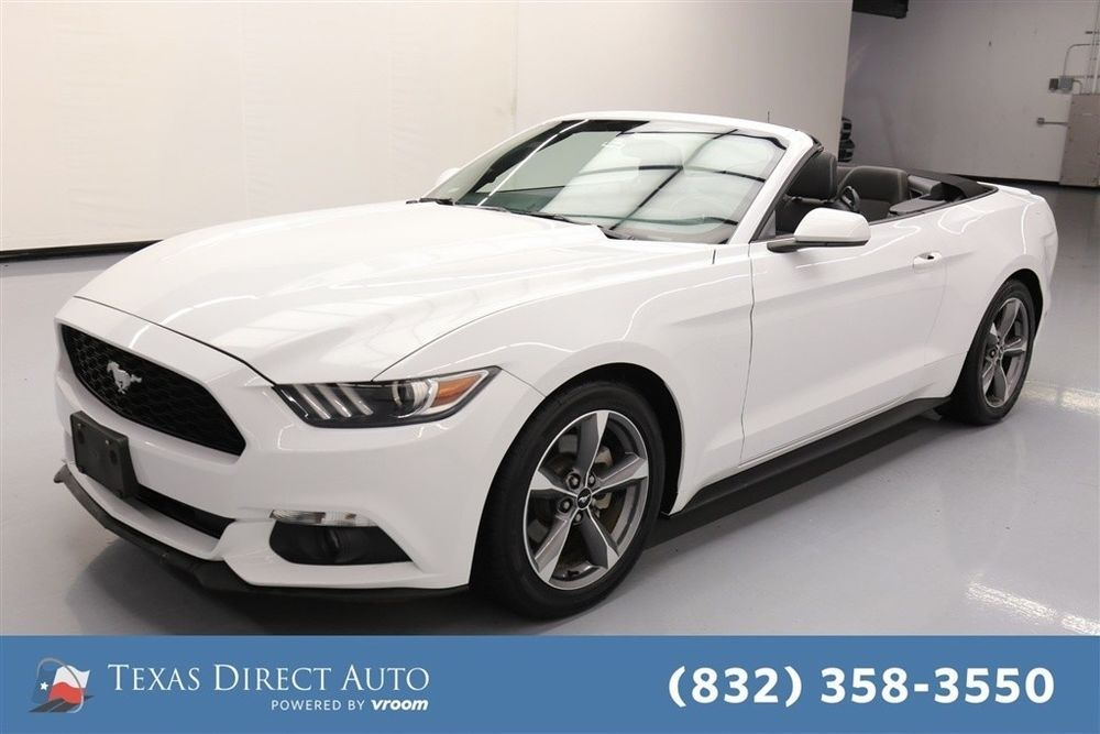 Ebay 2016 Ford Mustang V6 Texas Direct Auto Used 3 7l 24v
