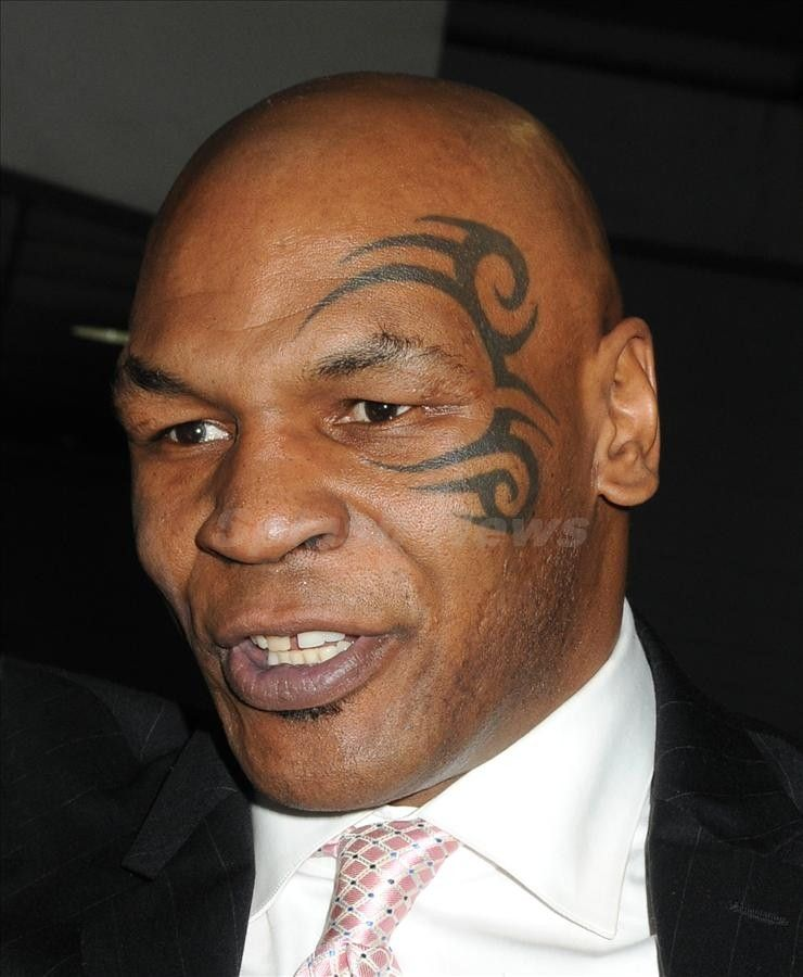 The Famous Face Tattoo, Mike Tyson The Older Guys Always