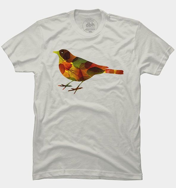 T-shirt Design Inspiration: All You Need to Know | Printed, Birds ...