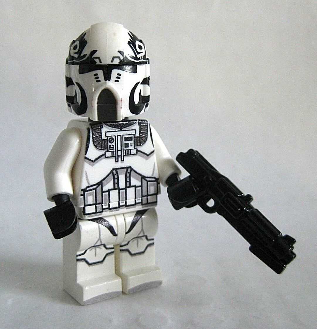 Lego SINKER Wolfpack Custom Printed Clone Minifigure W// Helmet Brickarms DC-15S