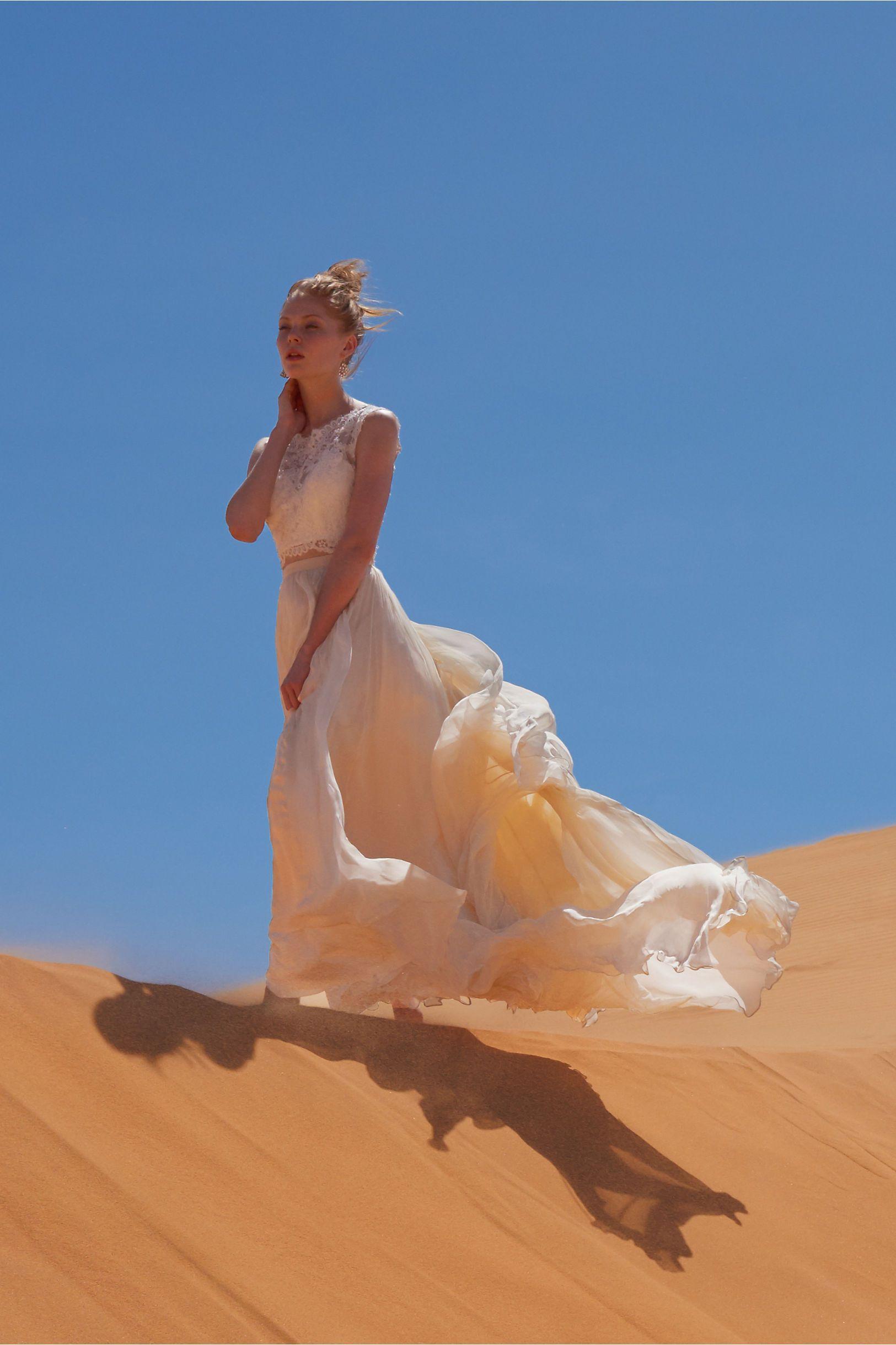 BHLDN Brody Top & Delia Maxi Skirt in  Bride Wedding Dresses at BHLDN