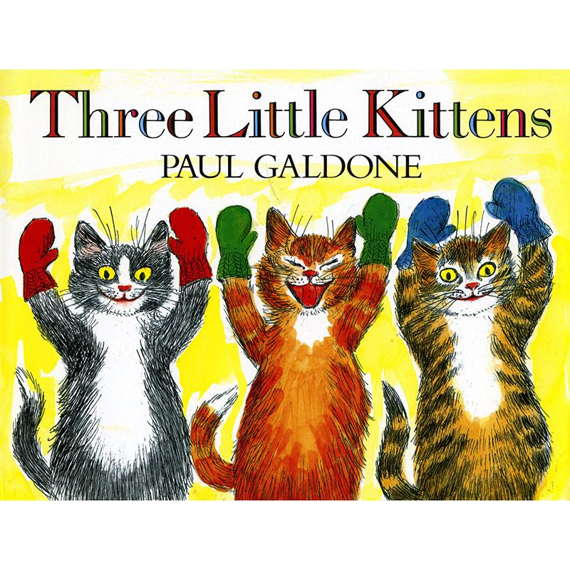 The Three Little Kittens Big Book Little Kittens Nursery Rhymes Three Little