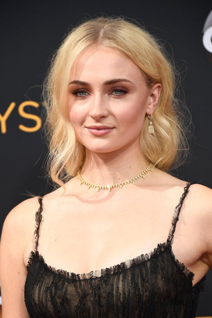 If You Thought Those Emmys Gowns Were Glam, Wait Until You Zoom In on the Accessories Sophie Turner Wearing Forevermark jewels.