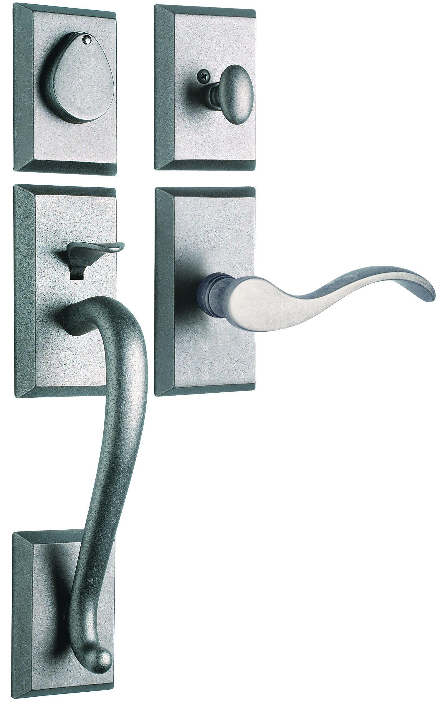 Rockwell Premium Savoy Solid Brass Entry Door Handle Door Handles Front Door Hardware Exterior Door Hardware