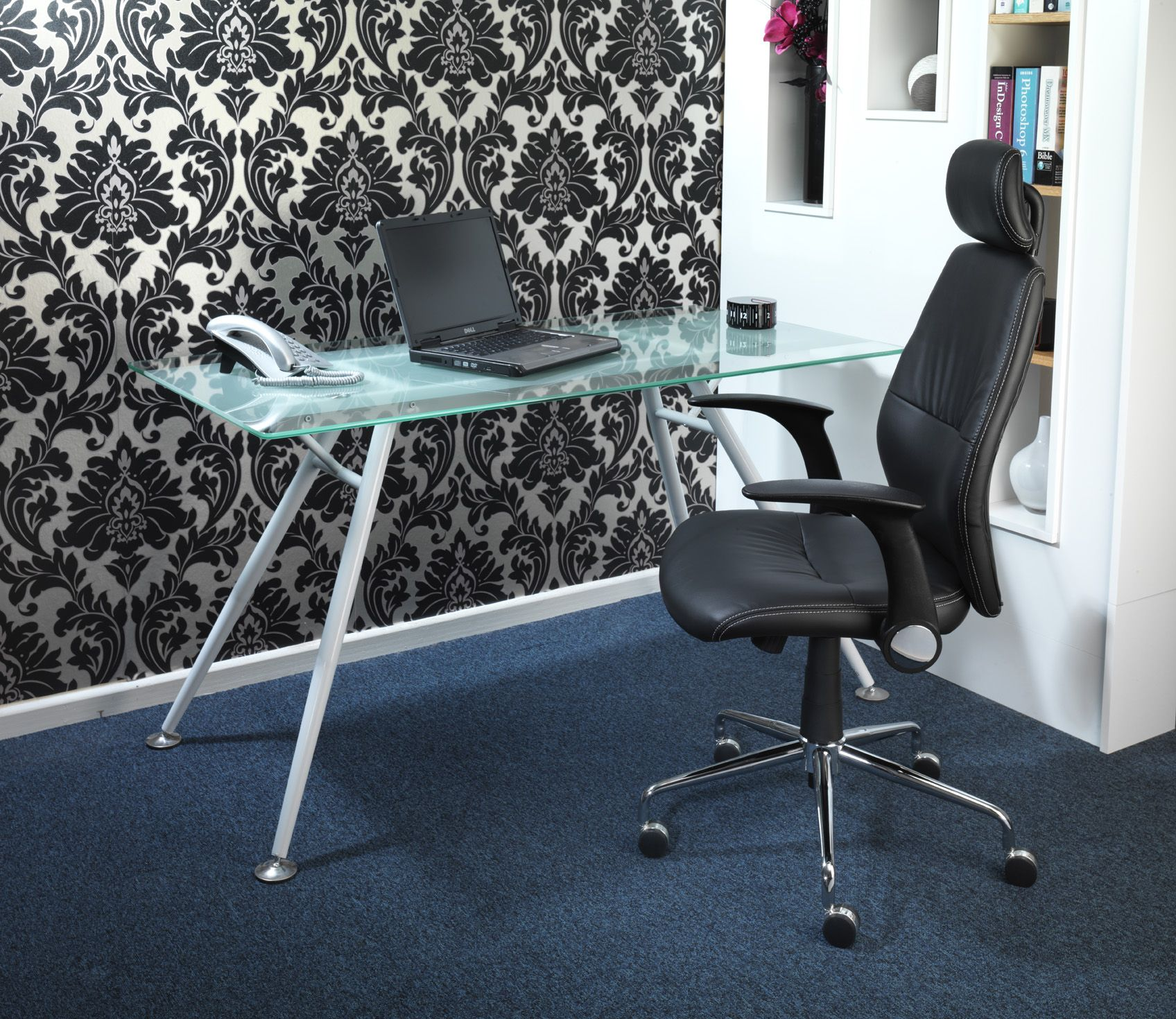 Fabulous Stylish Office Chair With Flip Back Arms Space Saving Inzonedesignstudio Interior Chair Design Inzonedesignstudiocom