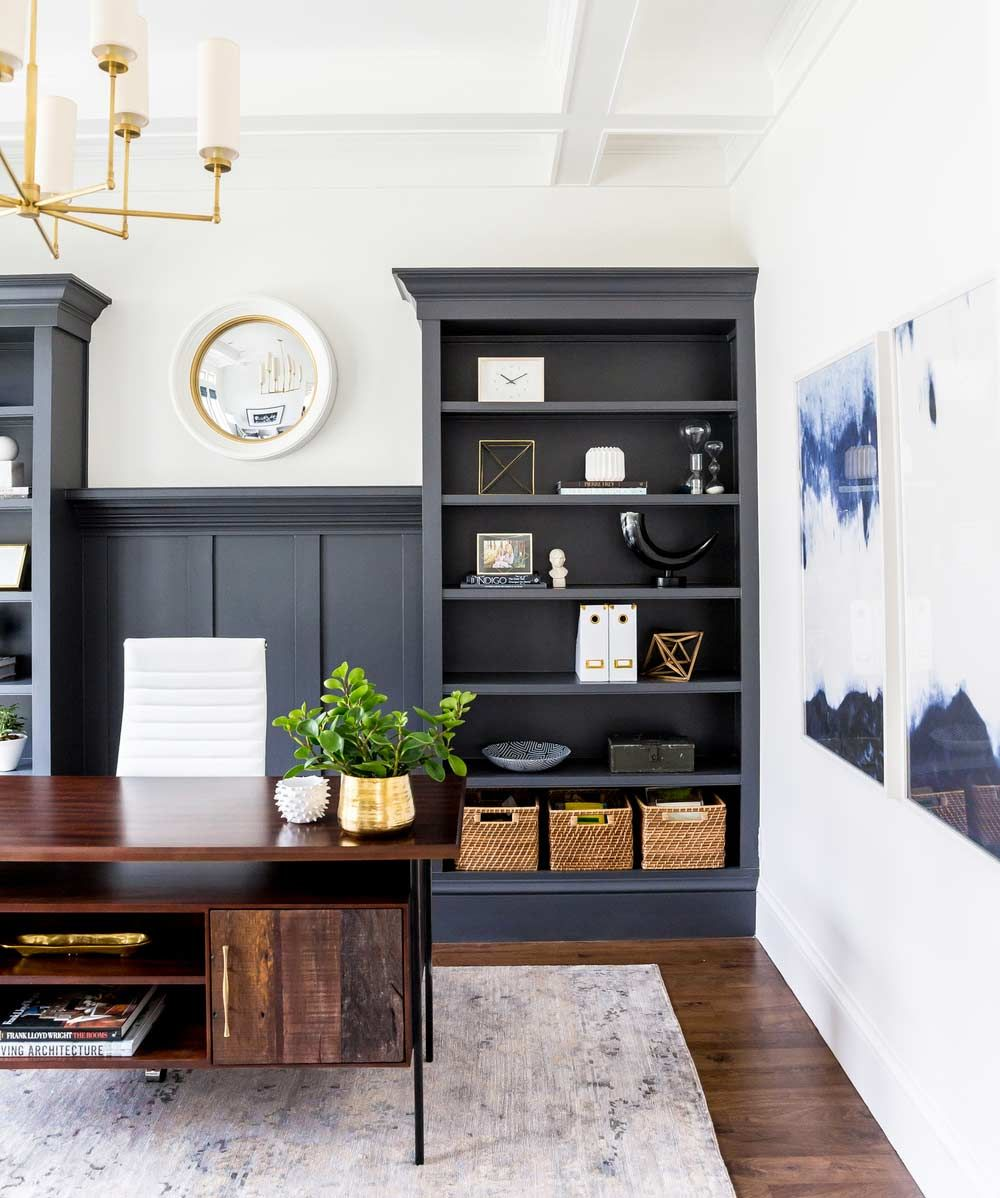 Best Dark Home Office Inspiration And Ideas Home Decor 640 x 480