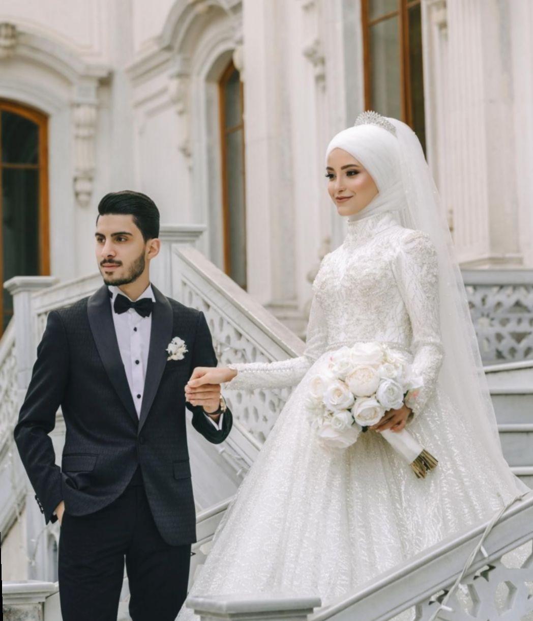 ✓ dress wedding hijab gowns #dress #hairgoals #hair