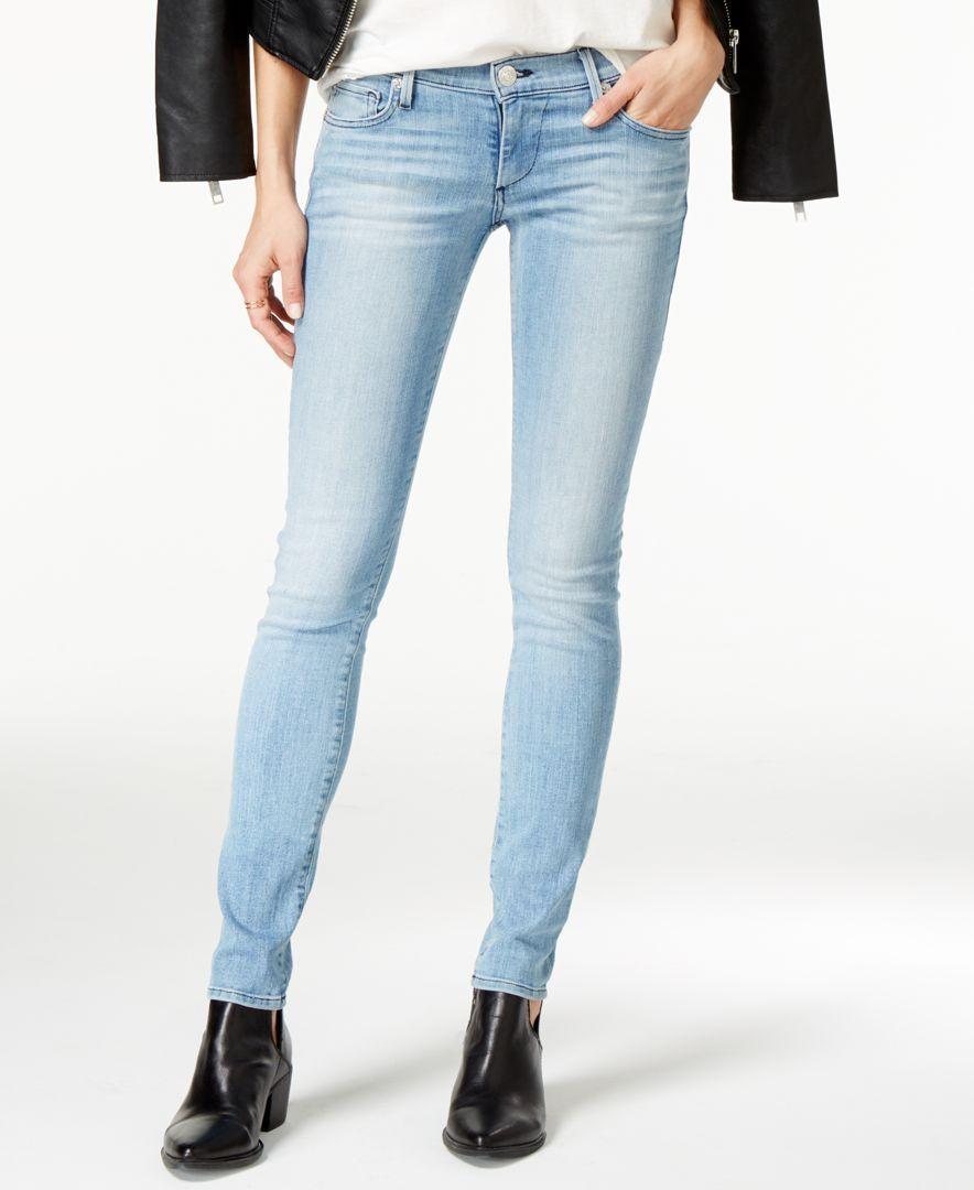 6223eb75c True Religion Stella Light Wash Skinny Jeans
