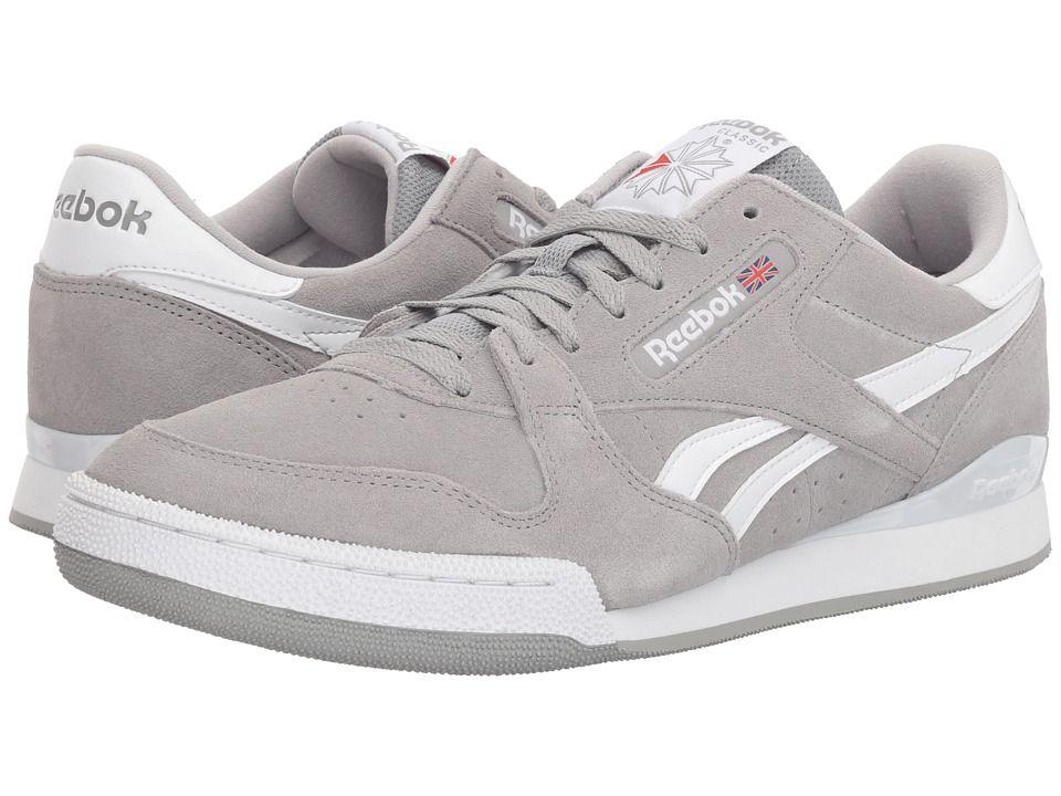 Reebok Lifestyle Phase 1 Pro MU Uomo Classic scarpe Tin Tin Tin grigio bianca   41a8fc