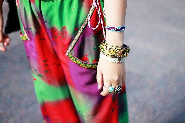 Vibrant batik