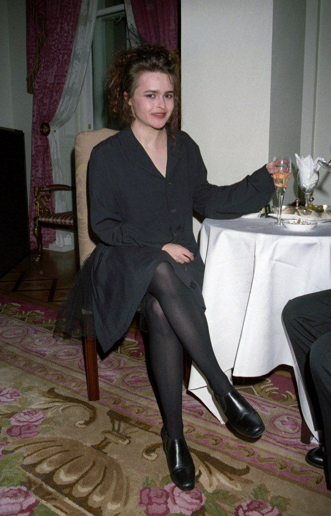 Helena bonham carter stockings