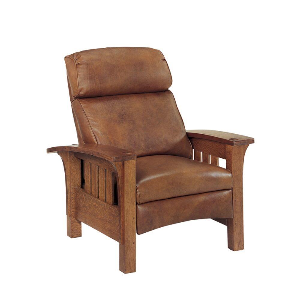 Bustle Back Bow Arm Morris Recliner Morris Chair