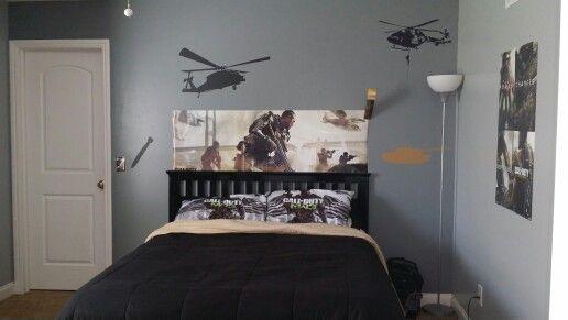 Call Of Duty Bedroom Ideas Sistem As Corpecol