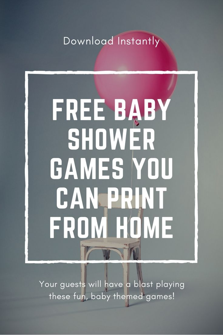 Free baby shower games you can print from home baby shower diy free baby shower games you can print from home solutioingenieria Image collections
