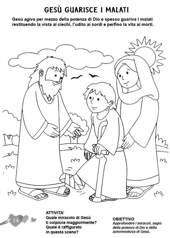 Langolo Disegni Da Colorare Catechismo Biblia Para Niños