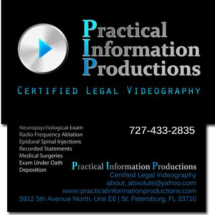 Professional legal videographer business cards business cards by professional legal videographer business cards colourmoves