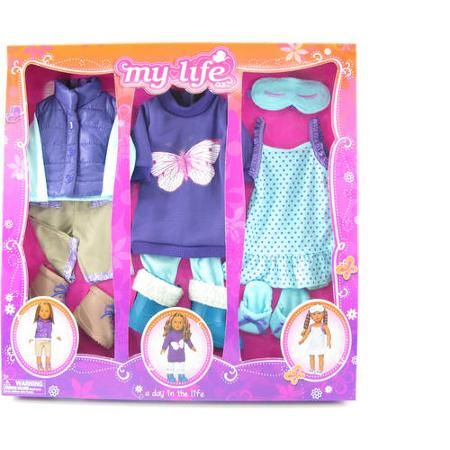 Baby Doll Clothes At Walmart Anna  A Day In The Life Clothing Set 7  Walmart She Has An 18