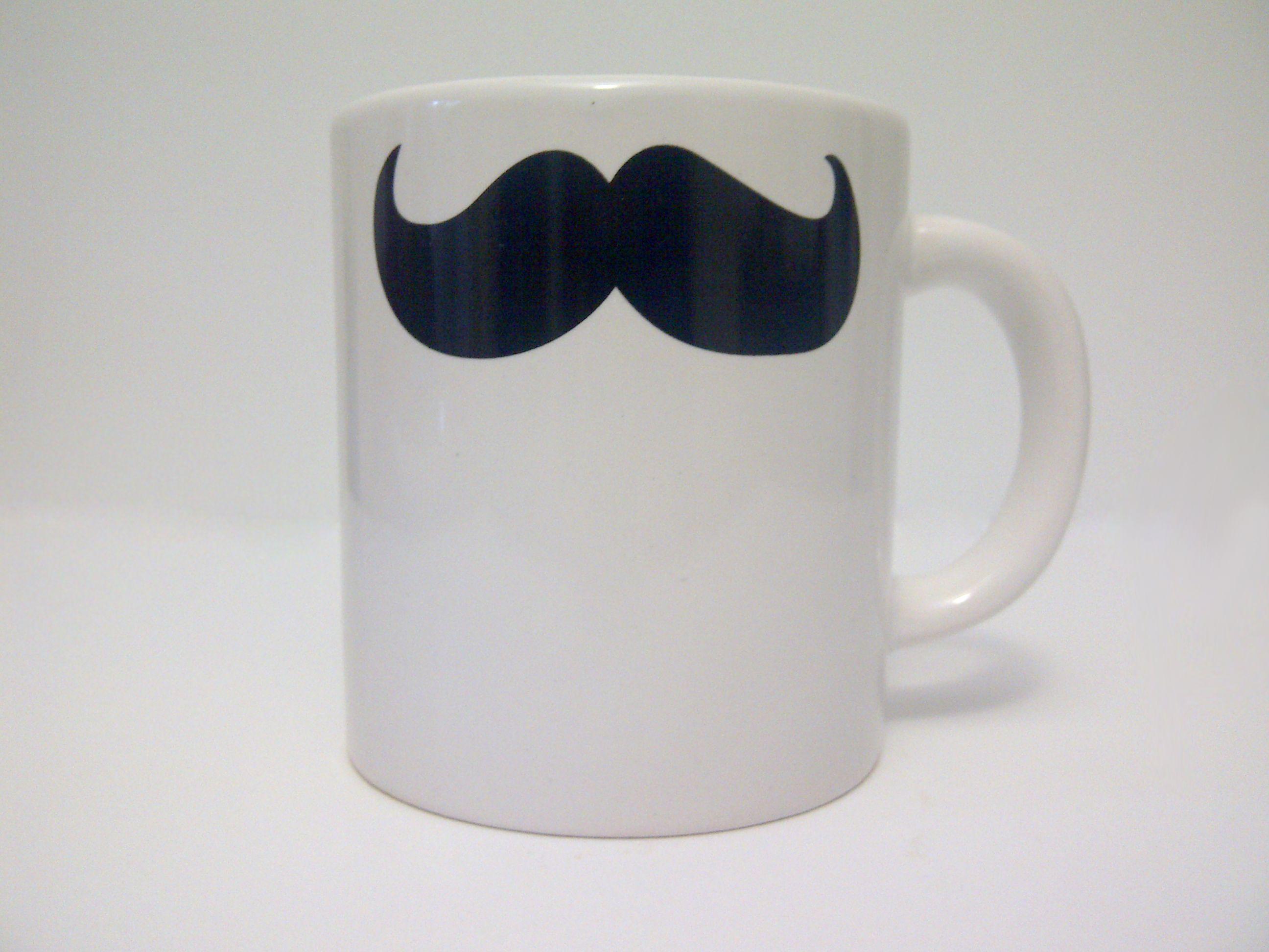 Jarros mug Bigote, $65 en http://ofeliafeliz.com.ar