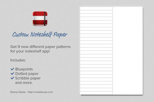 noteshelf 2 paper size not matching