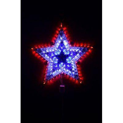 652edc177eb Estrella Navidad Multicolor De Led 50cm 120 Luces Guirnalda -   490 ...