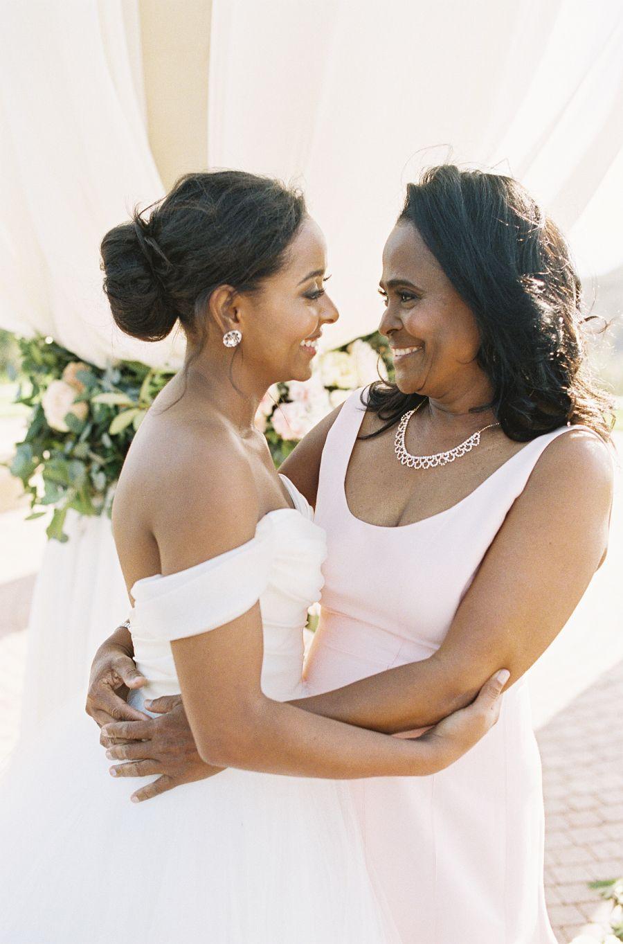 California pastel gardeninspired wedding wedding moments