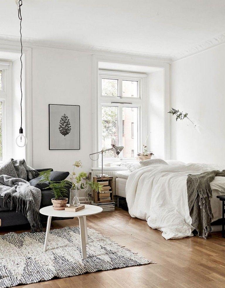 62+ Awesome and Stylish Studio Apartment Decorating Ideas images