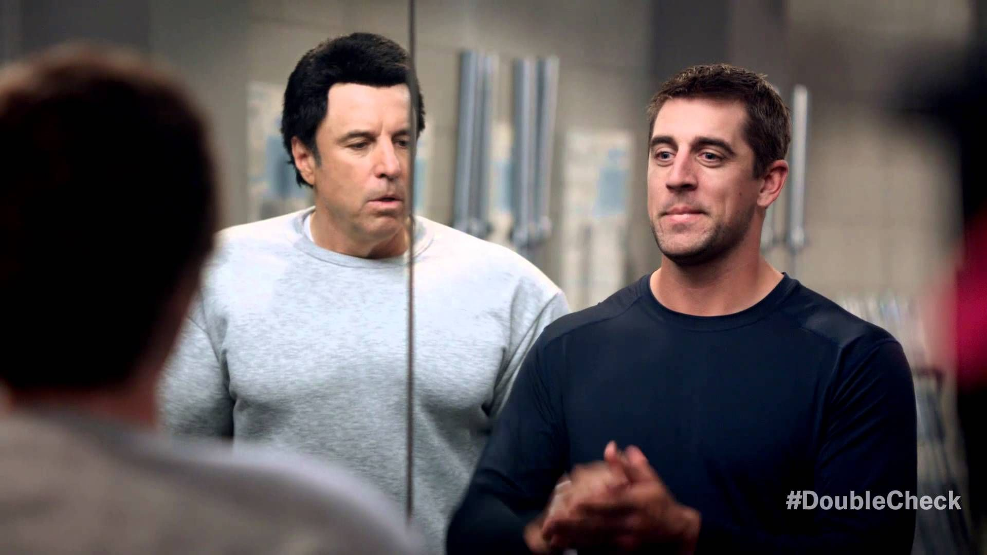 State Farm 30 Ad Mirrors W Aaron Rodgers And Hans Franz Dana Car Green Bay Packers Dana Carvey Aaron Rodgers Kevin Nealon