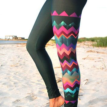 LEGGING - -  Style Legging for surf,  Yoga, Running, Biking, sup, kitesurf, wakeboard