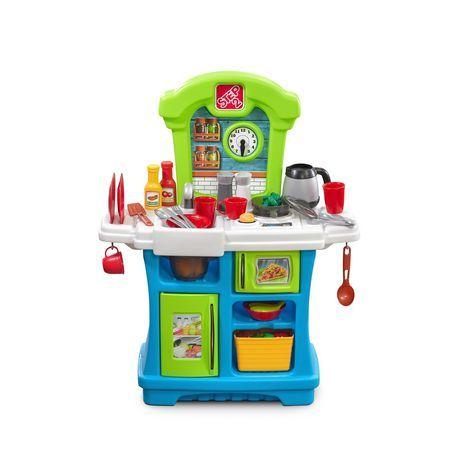Step2 Little Cook\'s Play Kitchen in 2019 | Toy kitchen, Kids ...