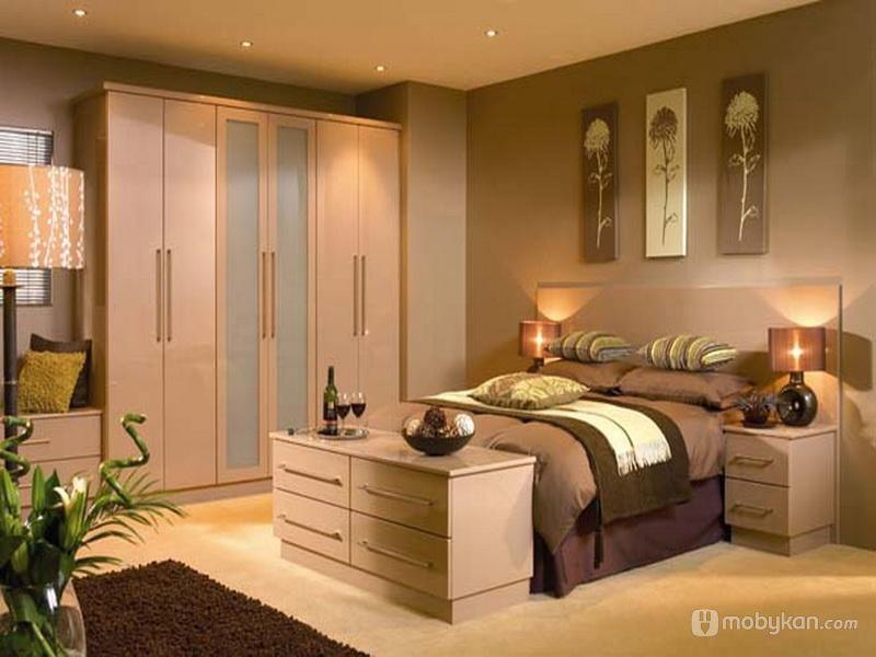 الوان دهانات مميزه افكار ل الوان الدهان مجلة موبيكان Fitted Bedroom Furniture Small Bedroom Colours Bedroom Colors
