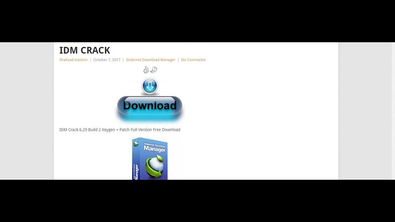 idm serial number keygen crack and patch free download
