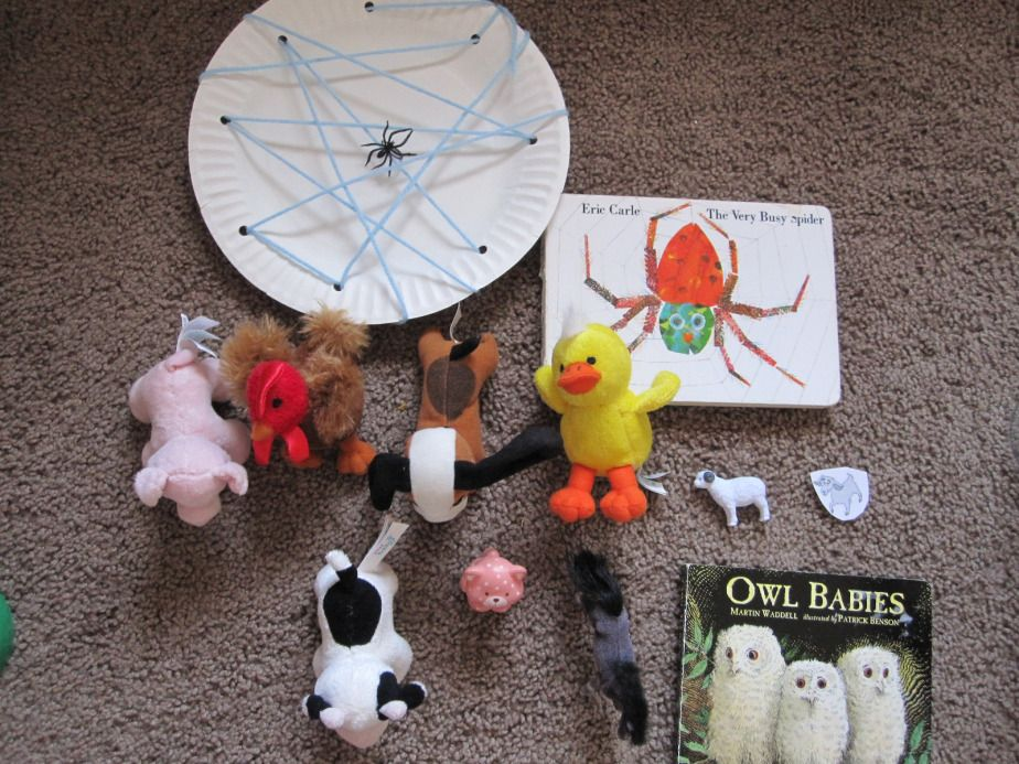 100 Days of Play Retelling a story with story props