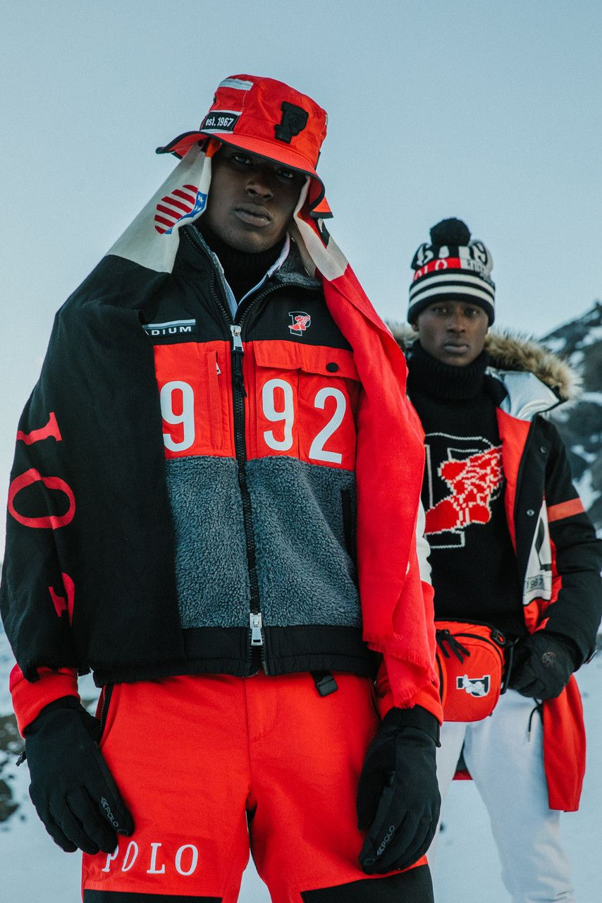 Polo Ralph Lauren S Classic Stadium Collection Returns For Fw18 Polo Ralph Lauren Outfits Fall Winter Jacket Ralph Lauren Outfits [ 1280 x 854 Pixel ]