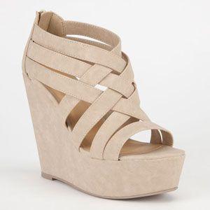 SODA Berta Womens Shoes, Nude  Heels & Wedges   Tillys.com $26.99 ...
