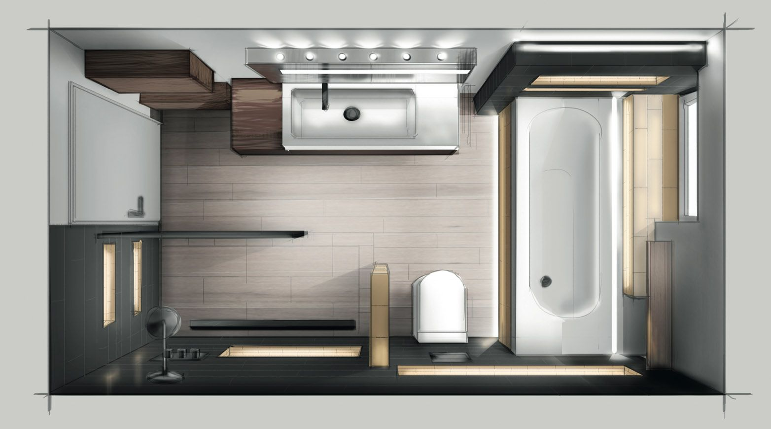 Badezimmerplaner Kostenlos ~ Kleine bäder grundrisse badgestaltung bäder mit badewanne foto