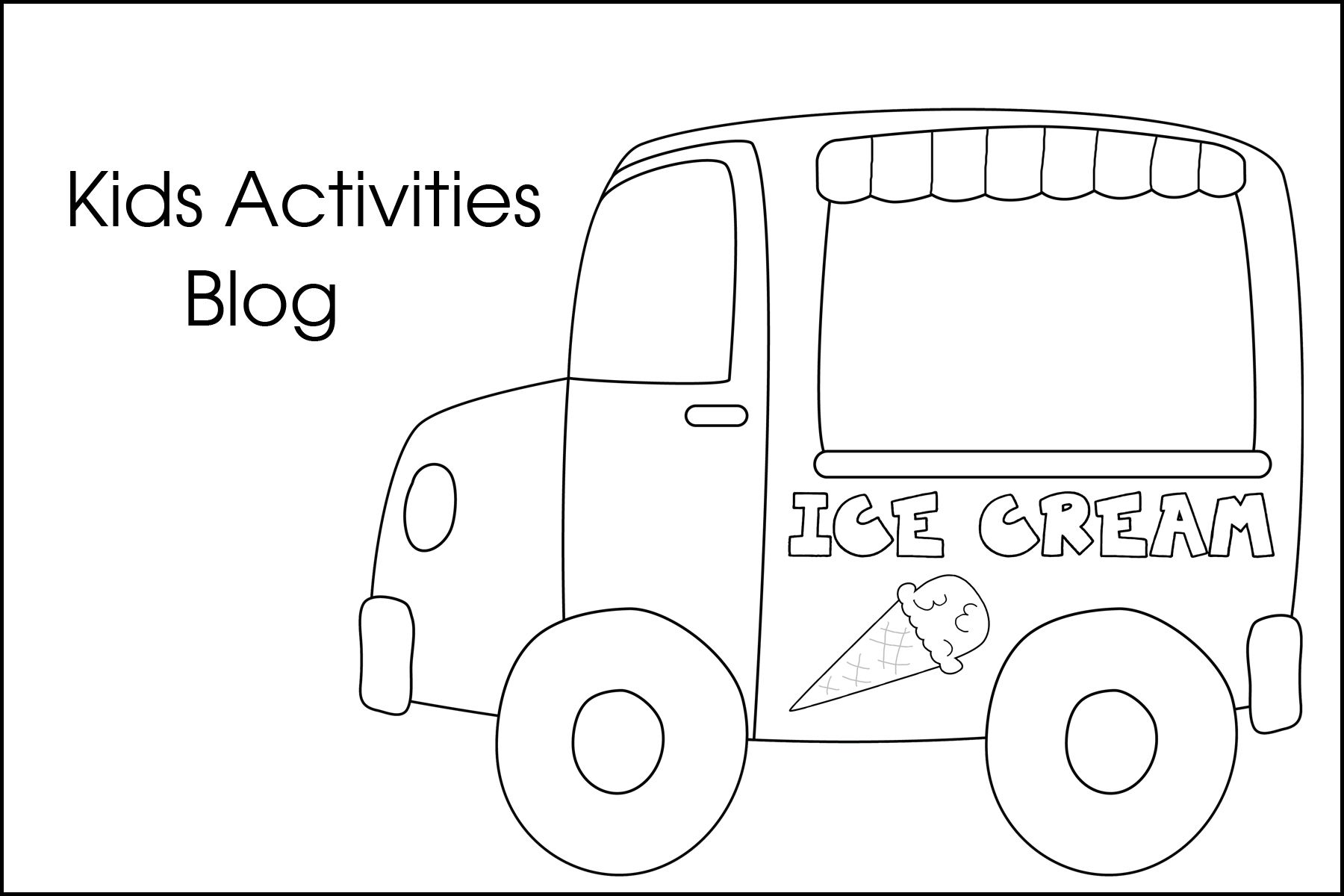 Ice Cream Coloring Pages Free Printable Ice Cream Coloring Pages Free Printable Coloring Pages Truck Coloring Pages