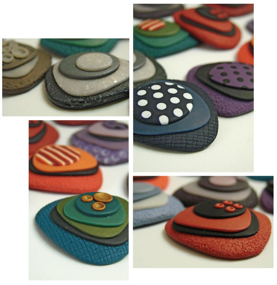 Mathilde Colas | Polymer brooches