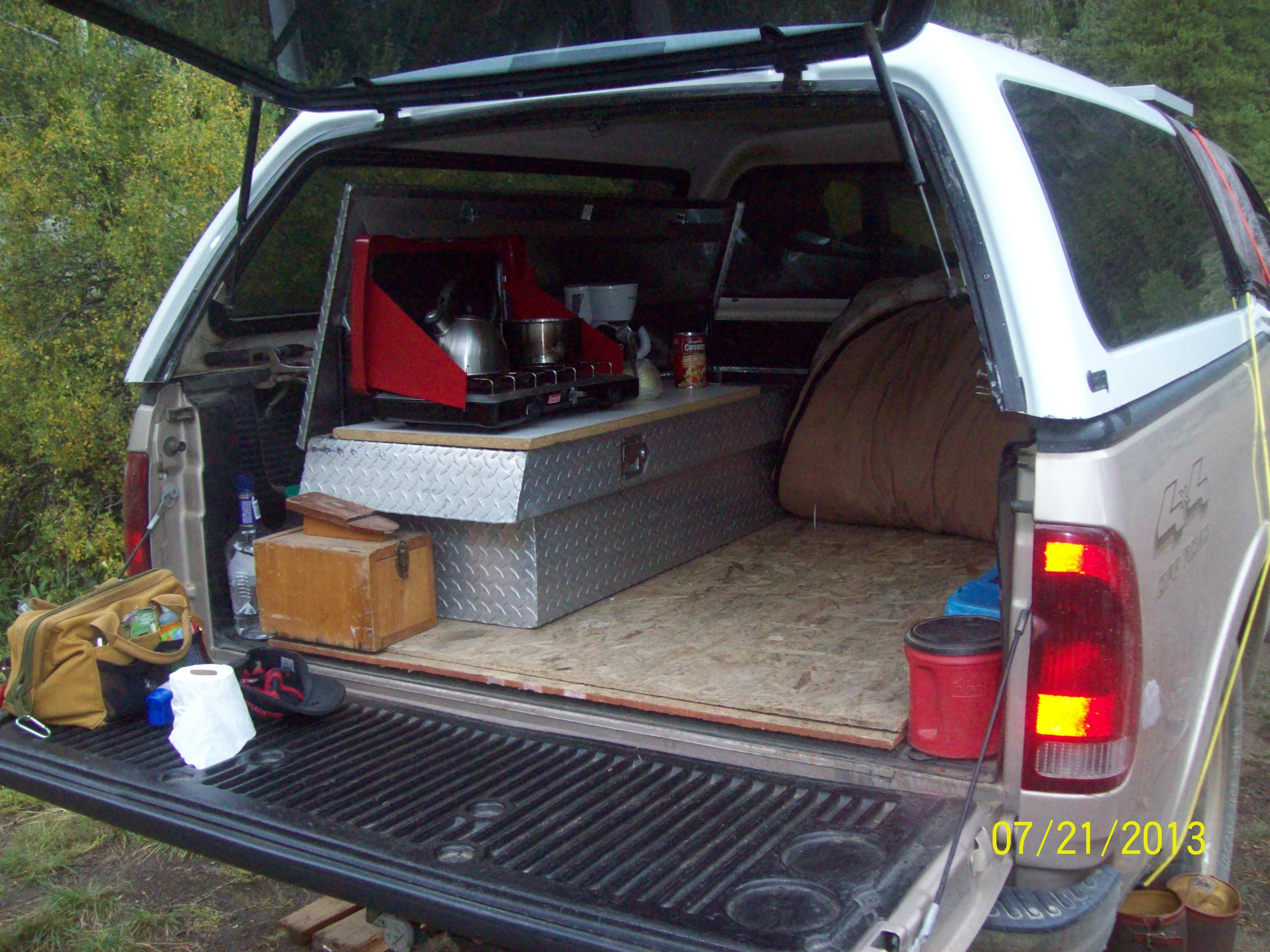 Camp Kitchens In A Box Survival Gear campers Pinterest