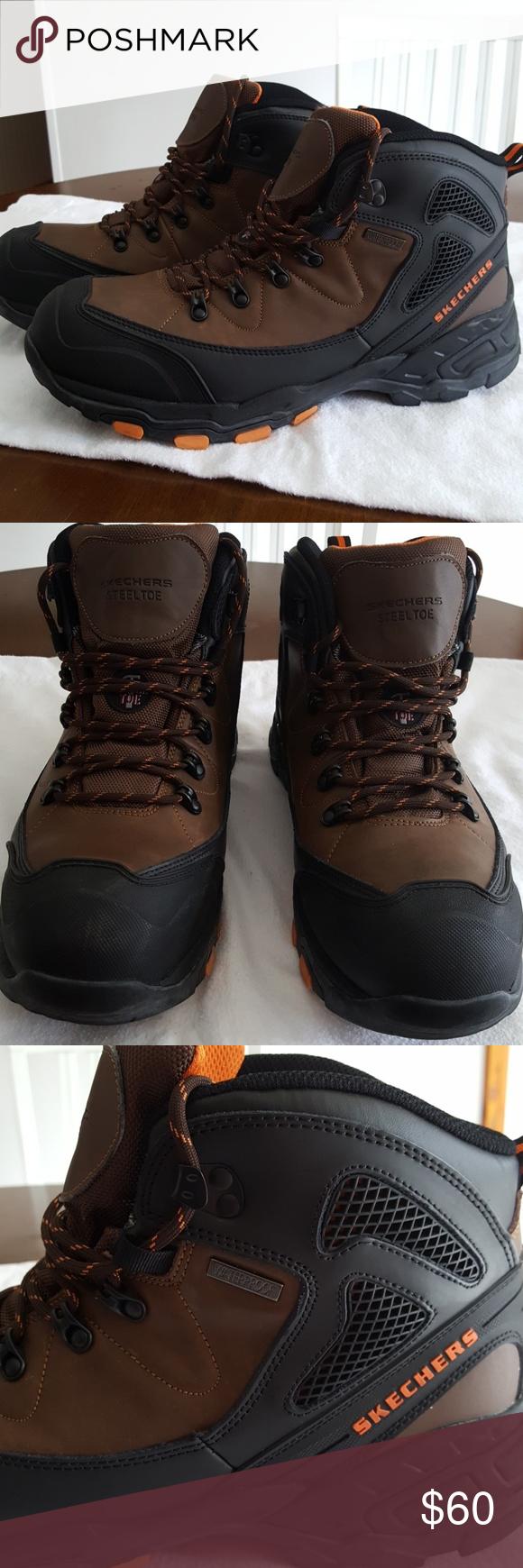 5a4c813dfade3 Sketchers SteelToe, Waterproof, Boot Size 14 Wide Sketchers Steel Toe,  Waterproof, Relaxed Fit, Gel Infused, Memory Foam, Wide Width Skechers  Shoes Boots
