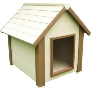 New Age Pet Eco Concepts Hi R Canine Cottage Insulted Dog House