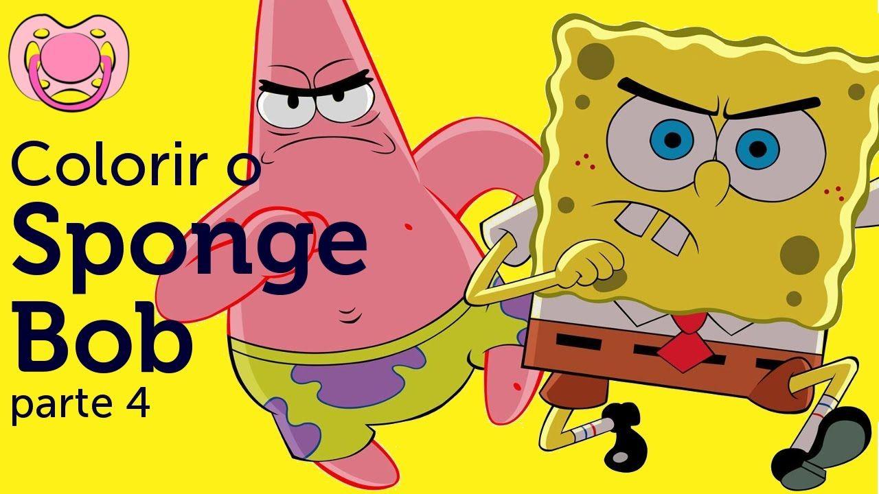 Livro de actividades do Sponge Bob - parte 4