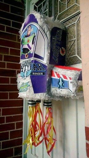 Buzz Nave Fiesta De Toy Story Cumple Toy Story Y Cumpleaños