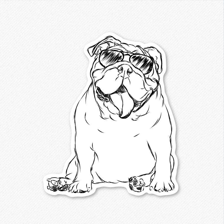 english bulldog line drawing Google Search