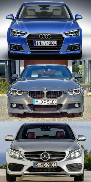 audi #a4 s line vs bmw 3 series #msport vs mercedes c class #amg