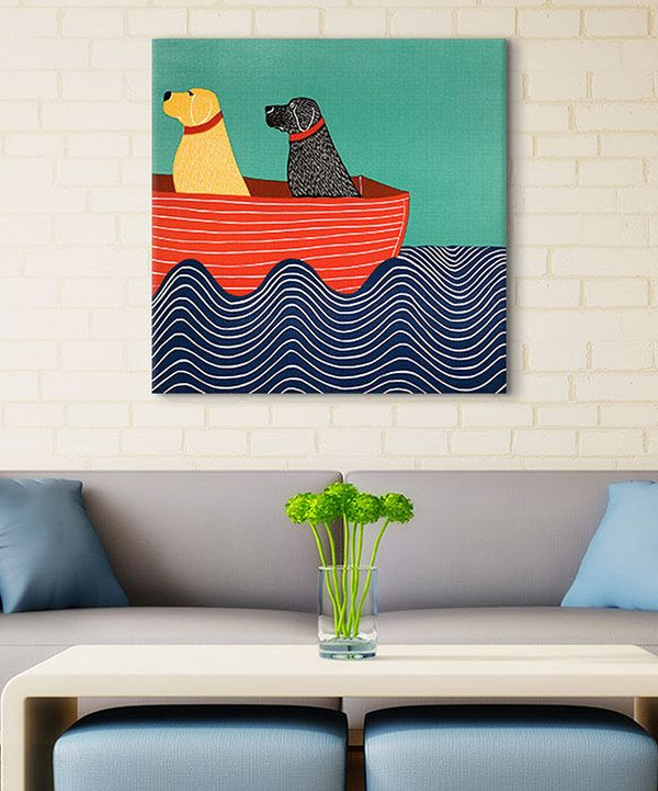Look at this Friendship Wrapped Canvas on #zulily today!