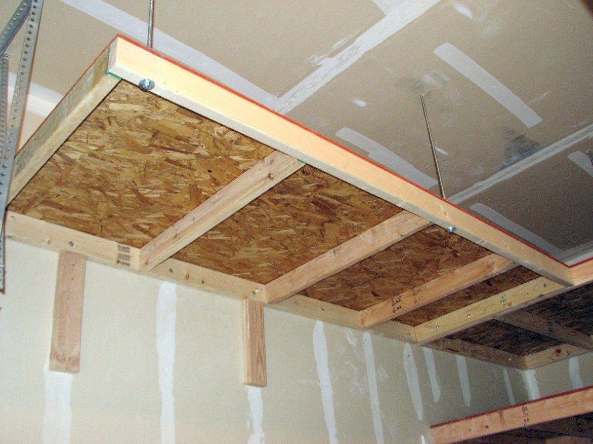 Lovely Garage Overhead Storage Diy 11 Diy Overhead Garage Storage