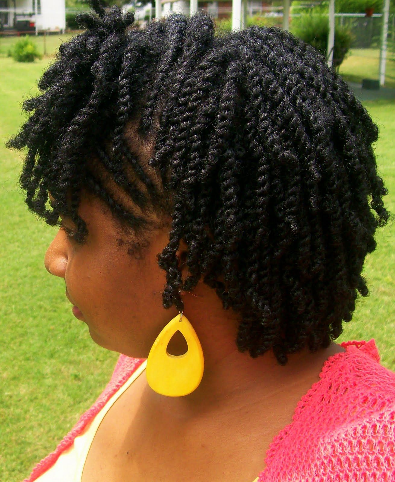 two-strand twists natural hair