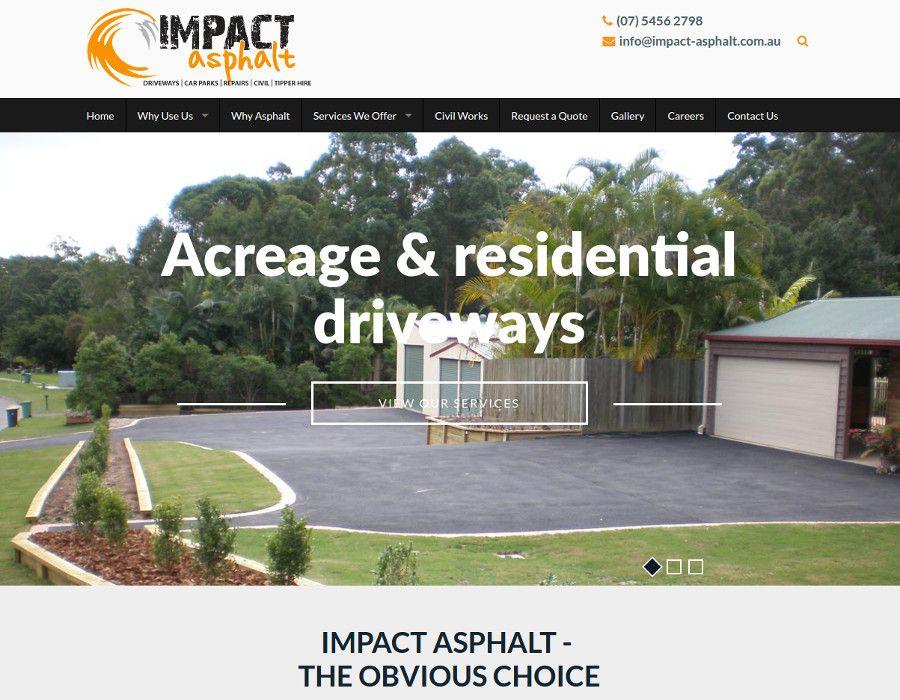 Website - Impact Asphalt