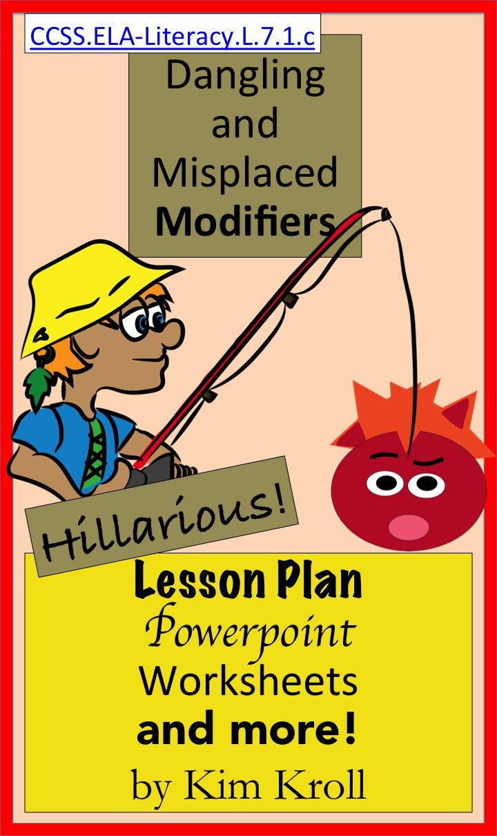 Dangling And Misplaced Modifiers Hilarious Lesson Ppt And