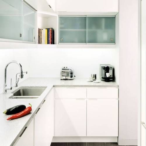 L-Shaped Kitchen For Small Space